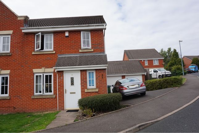 Thumbnail Semi-detached house for sale in Siskin Close, Oldbury