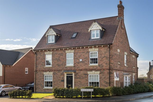 Thumbnail Detached house for sale in Bosworth Way, Anstey, Leicester