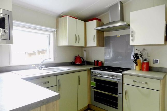 Kitchen of St Ives Holiday Village, Lelant Downs, St. Ives TR26