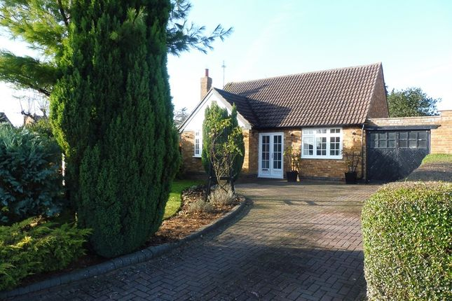 Thumbnail Detached bungalow for sale in High View, Wootton, Northampton