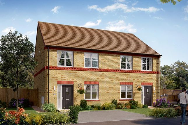 """Thumbnail Semi-detached house for sale in """"The Kilmington"""" at Carr Green Lane, Mapplewell, Barnsley"""