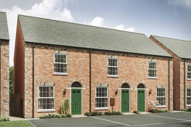 """Thumbnail Semi-detached house for sale in """"The Dudley I"""" at Ratcliffe Road, Sileby, Loughborough"""