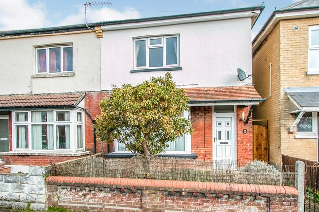 Thumbnail Semi-detached house for sale in Parker Road, Winton, Bournemouth