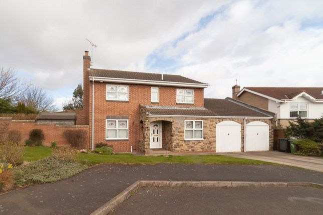 Thumbnail Detached house for sale in Humford Way, Bedlington