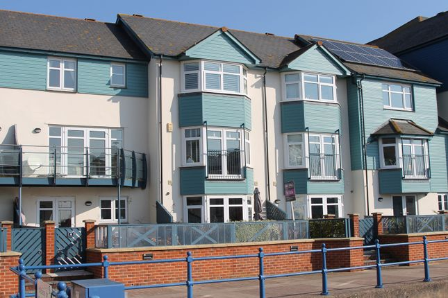Thumbnail Town house for sale in Cutters Wharf, Exmouth