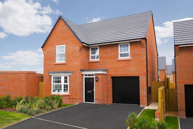 "Thumbnail Detached house for sale in ""Millford"" at Tranby Park, Jenny Brough Lane, Hessle"