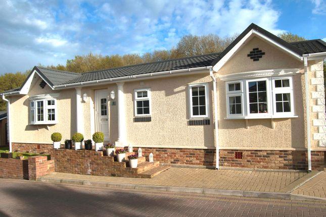 Thumbnail 2 bed mobile/park home for sale in Franklin Avenue, Pilgrims Retreat, Harrietsham, Maidstone, Kent