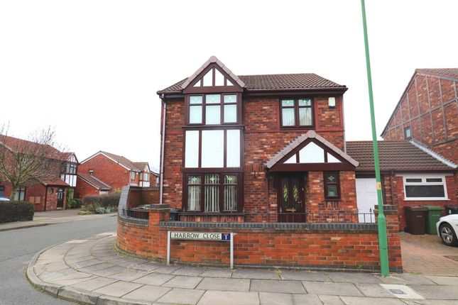 Thumbnail Detached house for sale in Harrow Close, Bootle, Merseyside