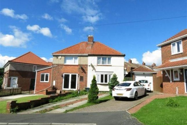 Semi-detached house for sale in Willow Grove, Horden, County Durham