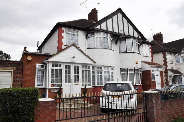 Thumbnail Semi-detached house for sale in Kenton Lane, Harrow