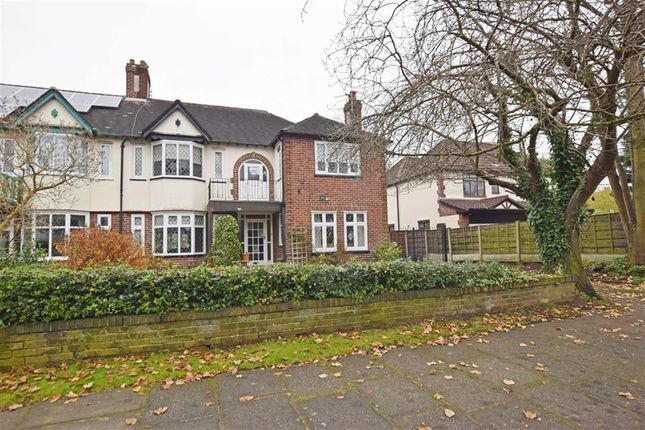 Thumbnail Semi-detached house for sale in Manor Drive, Chorlton, Manchester