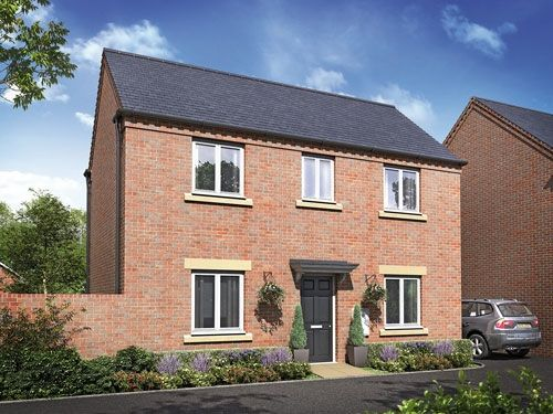 "3 bedroom detached house for sale in ""The Belvoir"" at Barleythorpe Road, Oakham"