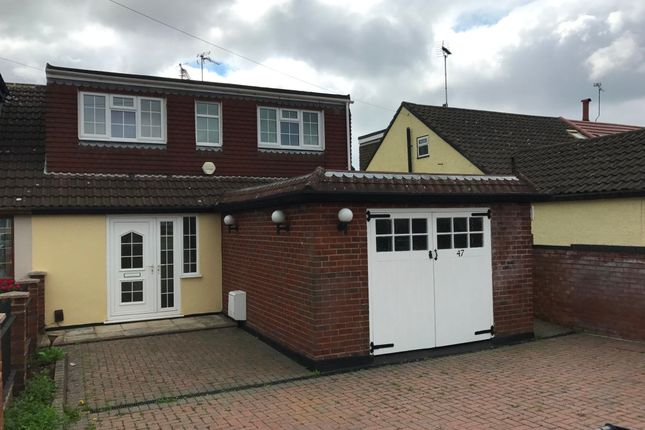 Thumbnail Semi-detached bungalow to rent in Theobalds Road, Cuffley, Potters Bar