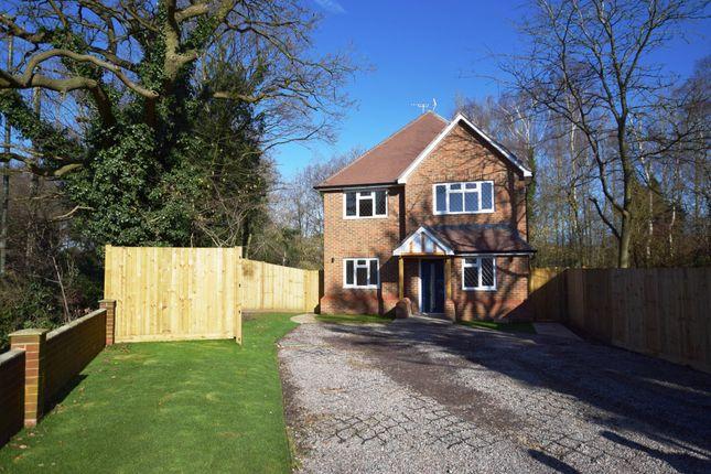 Thumbnail Detached house for sale in Mytchett Road, Mytchett, Camberley