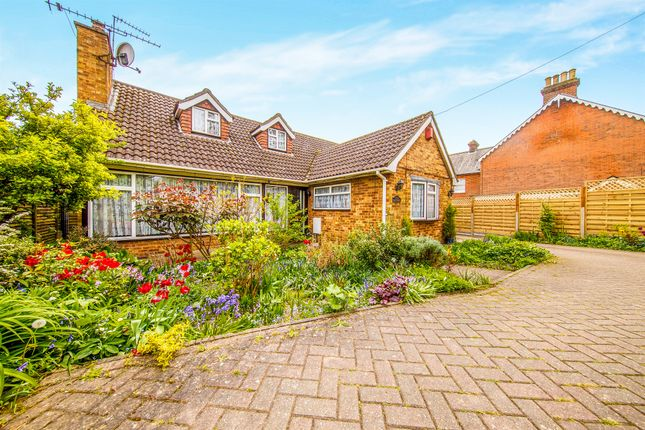 Thumbnail Bungalow for sale in High Road, High Cross, Ware