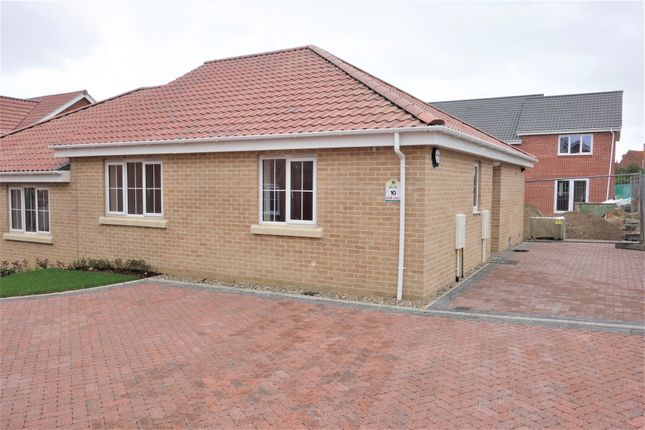 Thumbnail Semi-detached bungalow for sale in Walker Gardens, Wrentham, Beccles