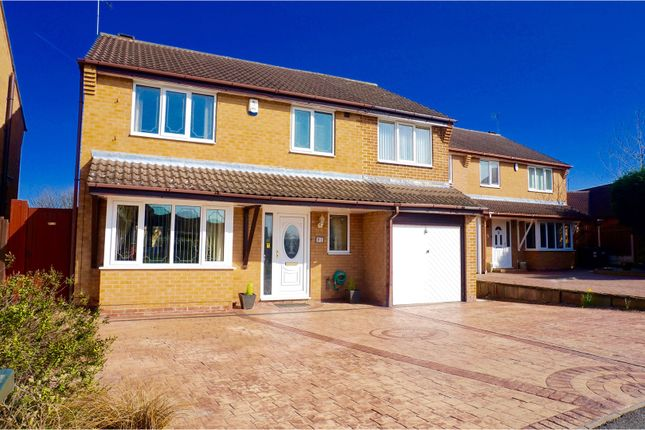 Thumbnail Detached house for sale in Crusader Drive, Doncaster
