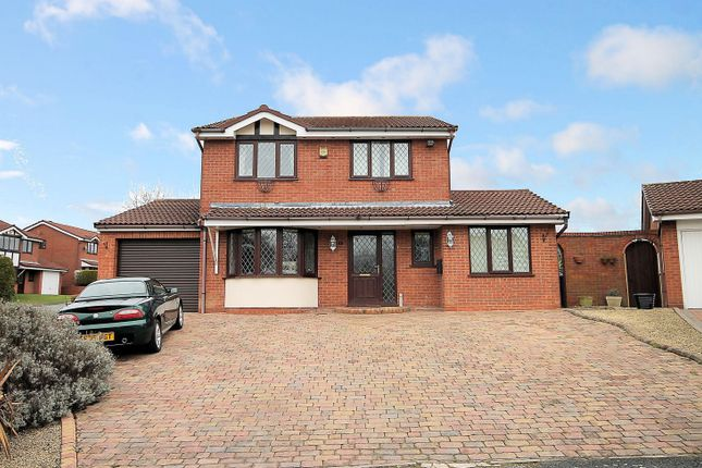 Thumbnail Detached house for sale in Dunster, Dosthill, Tamworth