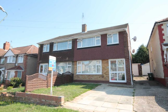 Thumbnail Semi-detached house for sale in Collindale Avenue, Northumberland Heath