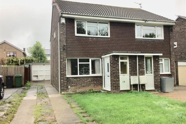 Thumbnail Semi-detached house for sale in Clover Grove, Telford