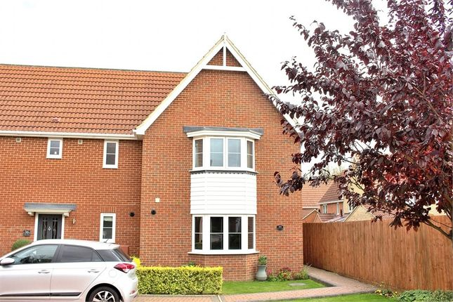 Thumbnail Semi-detached house for sale in Holly Close, Dunmow