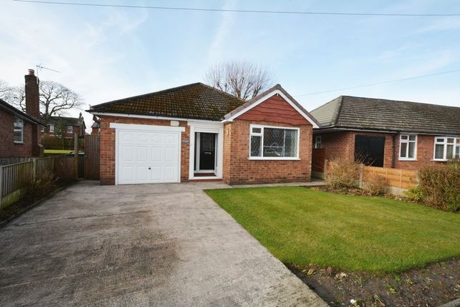 Thumbnail Detached bungalow to rent in Mona Avenue, Heald Green, Cheadle