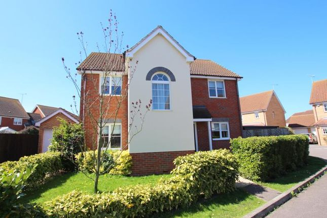 Thumbnail Detached house to rent in Aston Close, Yaxley, Peterborough