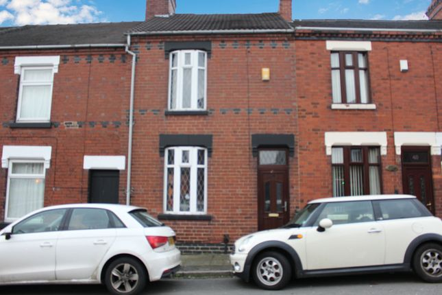 Front View of Boulton Street, Stoke-On-Trent, Staffordshire ST1