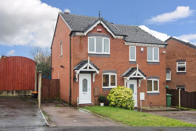 Thumbnail 2 bed semi-detached house to rent in Mill Crescent, Heath Hayes, Cannock