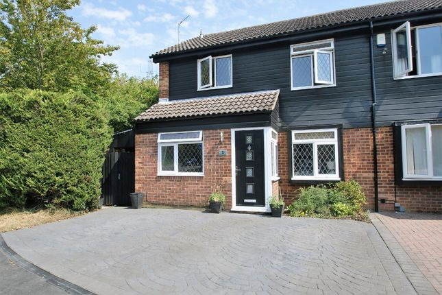 Thumbnail Semi-detached house for sale in Wentworth Drive, Bishop's Stortford