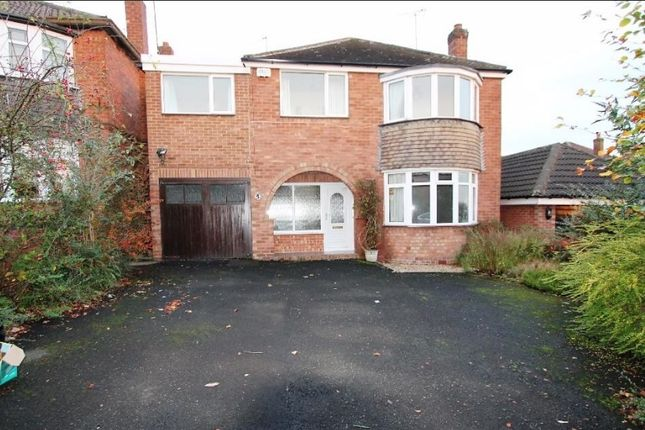 Thumbnail Detached house to rent in Calthorpe Close, South Walsall