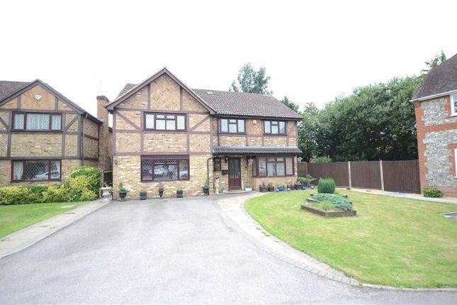 Thumbnail Detached house for sale in Comfrey Close, Farnborough, Hampshire