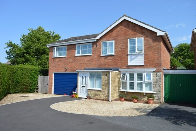Thumbnail Link-detached house for sale in Blythe Gardens, Worle, Weston-Super-Mare