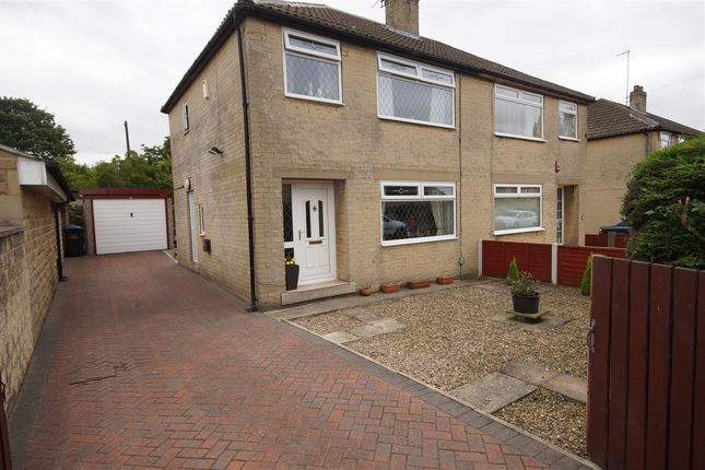 Thumbnail Semi-detached house for sale in Craiglea Drive, Wyke, Bradford