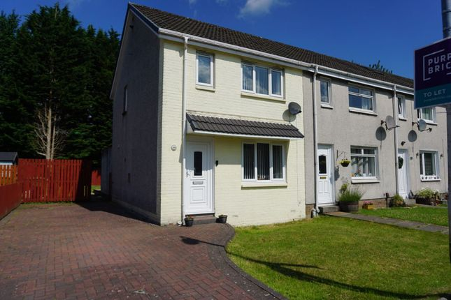 3 bed end terrace house to rent in Solway Road, Glasgow G64