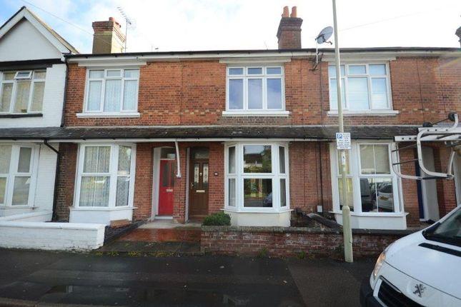Thumbnail Terraced house to rent in Elm Grove Road, Farnborough