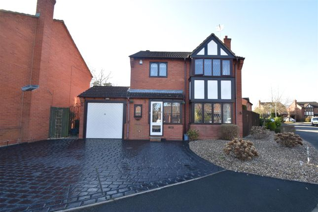 Thumbnail Detached house for sale in St. Augustines Close, Droitwich, Worcestershire