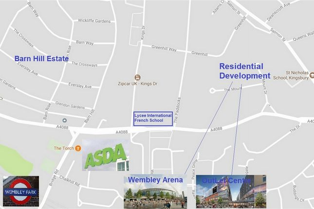 Thumbnail Land for sale in Forty Avenue, Wembley, Greater London