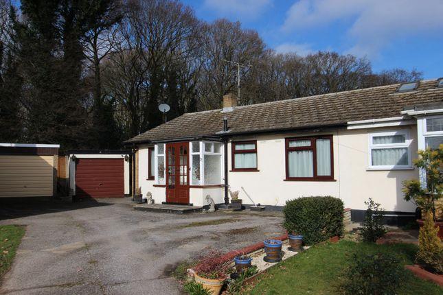 Thumbnail Semi-detached bungalow for sale in Goodwood Close, Benfleet