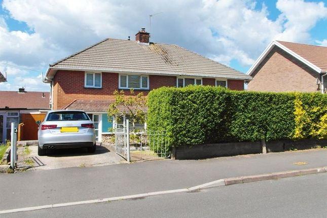 Thumbnail Semi-detached house for sale in Bampton Road, Llanrumney, Cardiff