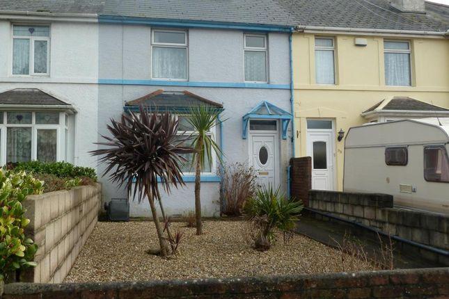 Thumbnail Terraced house to rent in Barton Hill Road, Barton, Torquay, Devon