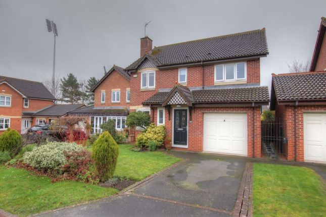 Thumbnail Detached house for sale in Milburn Close, Chester Le Street