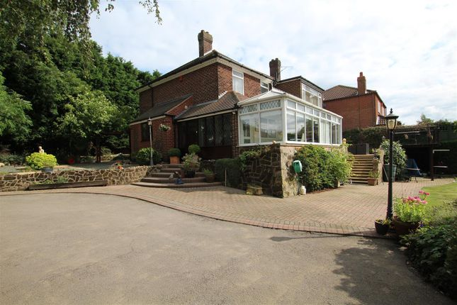 Thumbnail Detached house for sale in Woodland Road, Stanton, Burton-On-Trent