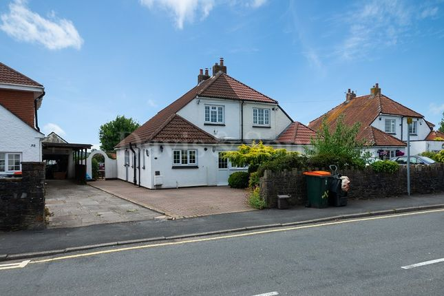 Thumbnail Semi-detached house for sale in High Cross Lane, Rogerstone, Newport.