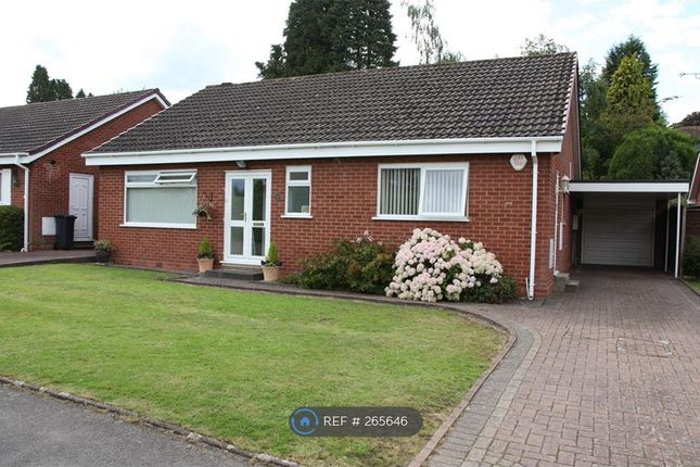 Thumbnail Bungalow to rent in Marsland Road, Solihull