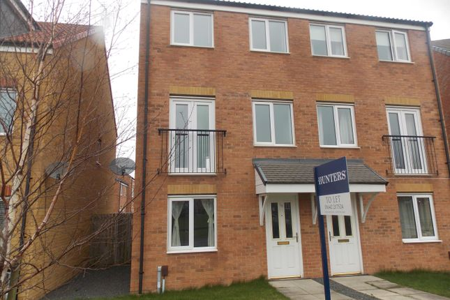 Thumbnail End terrace house to rent in Oval View, Middlesbrough