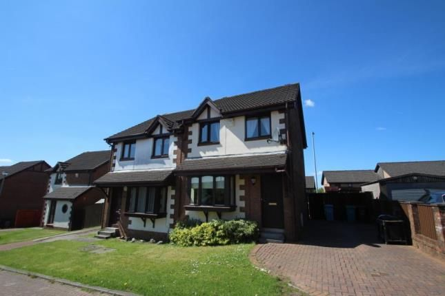 Thumbnail Semi-detached house for sale in Invervale Avenue, Airdrie, North Lanarkshire