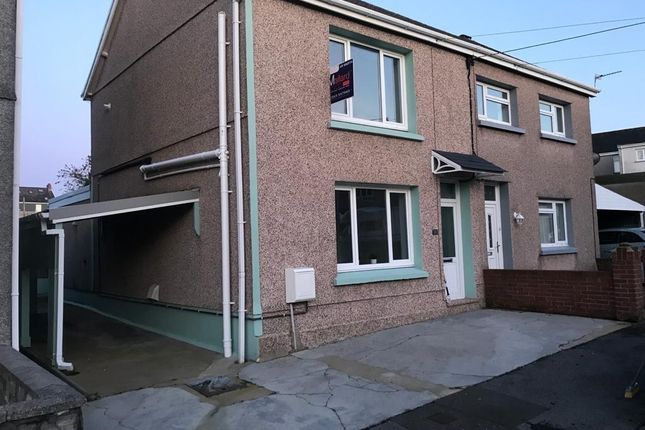 Thumbnail Semi-detached house for sale in Rawlings Road, Llandybie, Ammanford