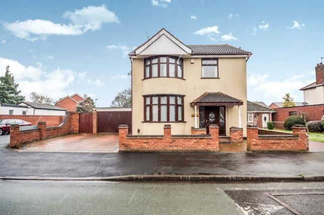 Thumbnail Detached house for sale in Ravenscroft Road, Willenhall, West Midlands
