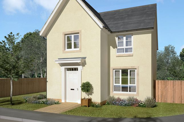 "Thumbnail Detached house for sale in ""Merchiston"" at Falkirk Road, Bonnybridge"